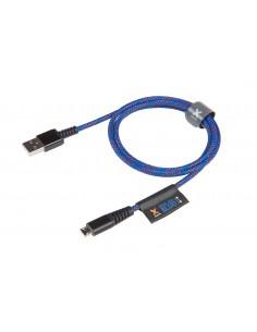 Xtorm Solid Blue USB-kaapeli 1 m 2.0 USB A Micro-USB B Sininen Xtorm CS010 - 1