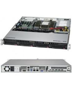 Supermicro SuperServer 5019P-MT Intel C622 LGA 3647 (Socket P) Teline ( 1U ) Musta Supermicro SYS-5019P-MT - 1