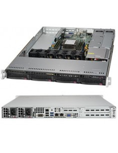 Supermicro SuperServer 5019P-WTR Intel C622 LGA 3647 (Socket P) Teline ( 1U ) Musta Supermicro SYS-5019P-WTR - 1