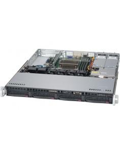 Supermicro SuperServer 5019S-MT Intel® C612 LGA 1151 (pistoke H4) Teline ( 1U ) Musta Supermicro SYS-5019S-MT - 1
