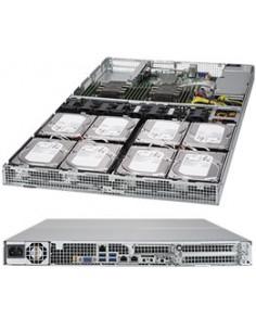 Supermicro SuperServer 6019P-WT8 Intel® C621 LGA 3647 (Socket P) Teline ( 1U ) Musta Supermicro SYS-6019P-WT8 - 1