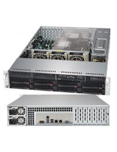 Supermicro SuperServer 6029P-TRT Intel C622 LGA 3647 (Socket P) Rack (2U) Black Supermicro SYS-6029P-TRT - 1