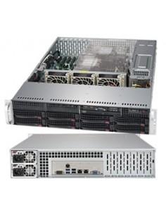 Supermicro SuperServer 6029P-TRT Intel C622 LGA 3647 (Socket P) Rack (2U) Svart Supermicro SYS-6029P-TRT - 1