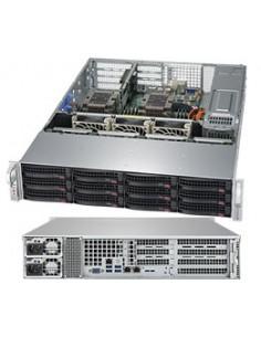 Supermicro SuperServer 6029P-WTRT Intel C622 LGA 3647 (Socket P) Rack (2U) Svart Supermicro SYS-6029P-WTRT - 1