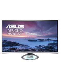 "ASUS Designo MX32VQ 80 cm (31.5"") 2560 x 1440 pikseliä Quad HD LED Musta, Harmaa Asus 90LM03R0-B01170 - 1"