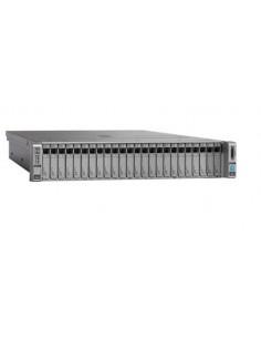 Cisco UCS C240 M4 palvelin 1.7 GHz 16 GB Teline ( 2U ) Intel® Xeon® E5 v4 DDR4-SDRAM Cisco UCS-SPR-C240M4-BS1 - 1
