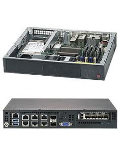 Supermicro SuperServer E300-9A Intel® SoC BGA 1310 Teline ( 1U ) Musta Supermicro SYS-E300-9A - 1