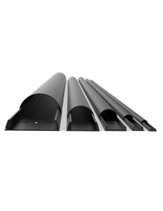 Multibrackets 2148 kabelskydd Sladdhantering Svart Multibrackets 7350022732148 - 1