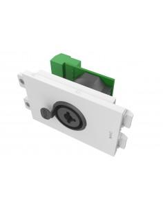 Vision TC3 XLRFJACK eluttag XLR + 6.35mm Vit Vision TC3 XLRFJACK - 1
