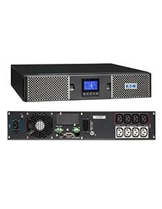 Eaton 9PX 1.5kVA Taajuuden kaksoismuunnos (verkossa) 1500 VA W 8 AC-pistorasia(a) Eaton 9PX1500IRT2U - 1