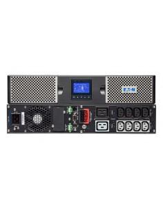 Eaton 9PX2200IRT2U strömskydd (UPS) Dubbelkonvertering (Online) 2200 VA W 10 AC-utgångar Eaton 9PX2200IRT2U - 1