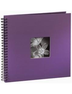 "Hama ""Fine Art"" Spiral Album, purple, 34x32/50 photo album 10 x 15. 13 18 Hama 094871 - 1"