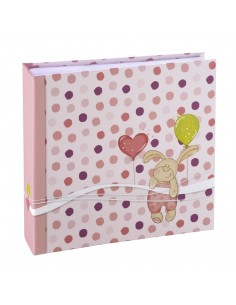 Hama Kleiner Hase photo album Pink 100 sheets Hama 2265 - 1