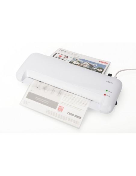 Ednet A4 Hot laminator 400 mm/min White Ednet 91610 - 4