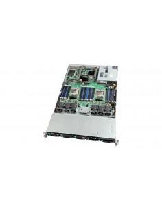 Intel VRN2208WAF6 palvelinrunko Intel® C612 LGA 2011-v3 Teline ( 2U ) Musta, Hopea Intel VRN2208WAF6 - 1