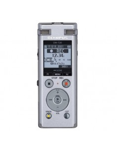 Olympus DM-720 sanelukone Sisäinen muisti ja flash-muistikortti Hopea Olympus V414111SE000 - 1