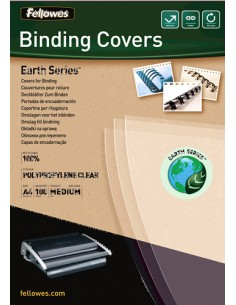 Fellowes 5361401 binding cover A4 Polypropylene (PP) Transparent 100 pc(s) Fellowes 5361401 - 1