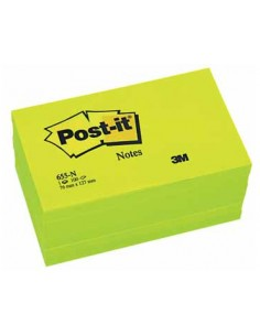 Post-It 655NV itseliimautuva muistilappu Vihreä 3m 7000080510 - 1