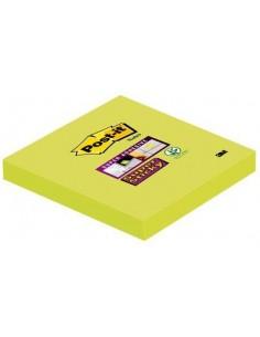 3M 6546SA självhäftande anteckningsblock Torg Lime 90 ark 3m 7100041907 - 1