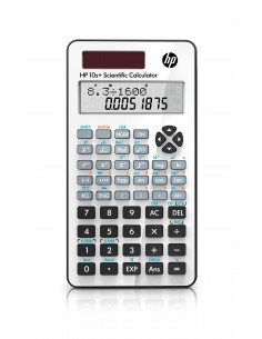 HP 10s+ laskin Tasku Funktiolaskin Valkoinen Hq NW276AA#B10 - 1
