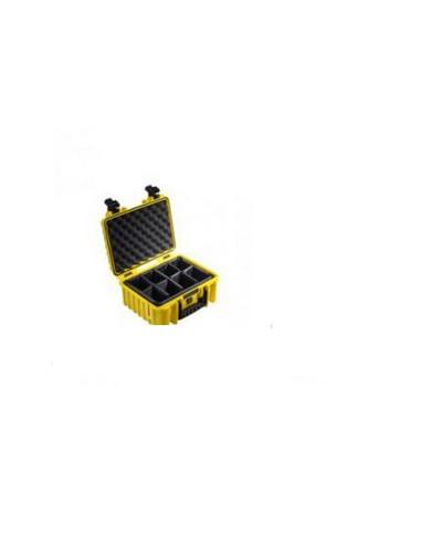 B&W Type 3000 varustekotelo Salkku/klassinen laukku Keltainen B&w International 3000/Y/SI - 1