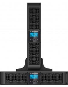 PowerWalker VFI 2000RT LCD UPS-virtalähde Taajuuden kaksoismuunnos (verkossa) 2000 VA 1800 W 8 AC-pistorasia(a) Bluewalker 10120