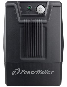 PowerWalker 10121025 UPS-virtalähde Linjainteraktiivinen 800 VA 480 W 2 AC-pistorasia(a) Bluewalker 10121025 - 1