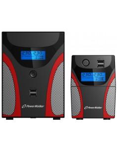 PowerWalker VI 2200 GX UPS-virtalähde Linjainteraktiivinen VA 1200 W Bluewalker 10121046 - 1
