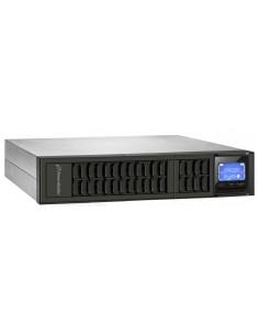 PowerWalker VFI 1000CRM LCD UPS-virtalähde Taajuuden kaksoismuunnos (verkossa) 1000 VA 800 W 3 AC-pistorasia(a) Bluewalker 10122