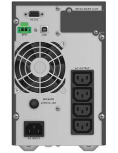 PowerWalker VFI 1000 TG UPS-virtalähde Taajuuden kaksoismuunnos (verkossa) VA 900 W 4 AC-pistorasia(a) Bluewalker 10122041 - 1