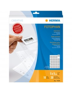 HERMA 7698 korttitasku Läpinäkyvä Herma 7698 - 1