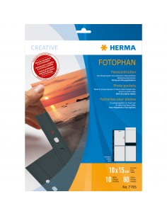 HERMA 7785 muovitasku 100 x 150 mm Polypropeeni (PP) 10 kpl Herma 7785 - 1