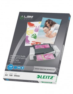 Leitz iLAM UDT laminointitasku 100 kpl Leitz 74800000 - 1