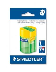Staedtler 512 006 BK kynänteroitin Käsikäyttöinen kynäteroitin Vihreä, Keltainen Staedtler 512 006 BK - 1