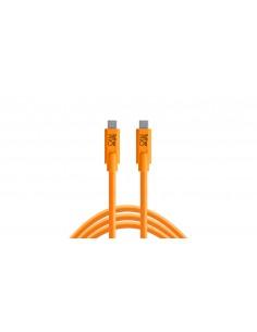 Tether Tools CUC15-ORG USB-kaapeli 4.6 m 3.2 Gen 1 (3.1 1) USB C Oranssi Tether Tools CUC15-ORG - 1
