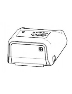 Zebra P1080383-205 reservdelar för skrivarutrustning Över cover 1 styck Zebra P1080383-205 - 1