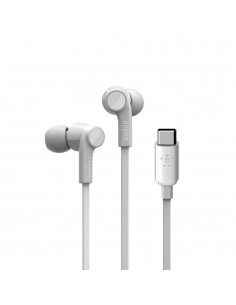 Belkin ROCKSTAR Headphones In-ear USB Type-C White Belkin G3H0002BTWHT - 1