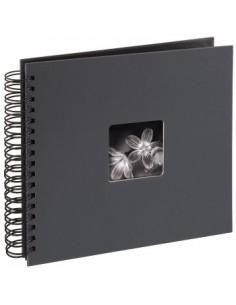 "Hama ""Fine Art"" Spiral Album, grey, 26x24/50 fotoalbum Grå 10 x 15. 13 18 Hama 94879 - 1"