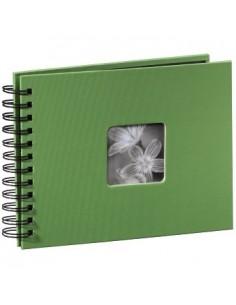 "Hama ""Fine Art"" Spiral Album, apple-green, 22x17/50 fotoalbum Grön 10 x 15. 13 18 Hama 94880 - 1"