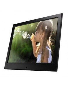 "Hama Slimline digitala fotoramar Svart 25.4 cm (10"") Hama 95291 - 1"