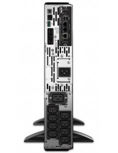 Fujitsu Smart-UPS Linjainteraktiivinen 3000 VA 2700 W 9 AC-pistorasia(a) Fujitsu Technology Solutions FJX3000RMHV2UNC - 1