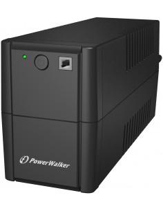 PowerWalker VI 850 SE UPS-virtalähde Linjainteraktiivinen VA 480 W 2 AC-pistorasia(a) Bluewalker 10120049 - 1