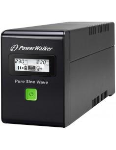 PowerWalker VI 800 SW UPS-virtalähde VA 480 W Bluewalker 10120062 - 1