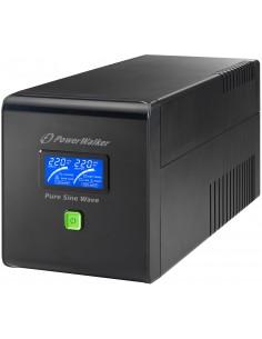 PowerWalker VI 750 PSW/Schuko Linjainteraktiivinen VA 480 W 4 AC-pistorasia(a) Bluewalker 10120081 - 1