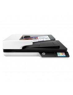 HP Scanjet Pro 4500 fn1 Taso- ja ADF-skanneri 1200 x DPI A4 Harmaa Hp L2749A#B19 - 1