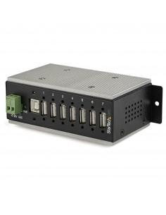 StarTech.com HB20A7AME keskitin USB 2.0 Type-B 480 Mbit/s Musta Startech HB20A7AME - 1