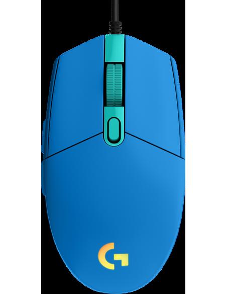 Logitech G102 Lightsync - Blue - Eer Logitech 910-005801 - 2