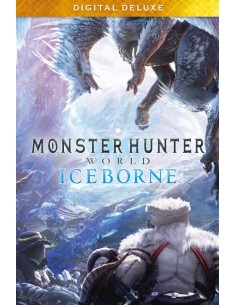Capcom Monster Hunter World: Iceborne Digital Deluxe Englanti PC Capcom 861926 - 1
