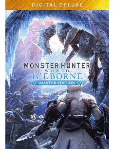 Capcom Monster Hunter World: Iceborne Master Edition Digital Deluxe Englanti PC Capcom 861929 - 1