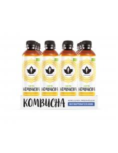 Kombucha - Inkivääri 12x370ml pullo Puhdistamo KOMG370X12 - 1